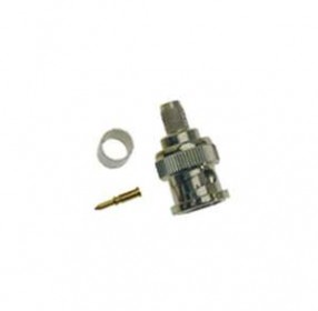 BNC Crimp Plug 6mm Male