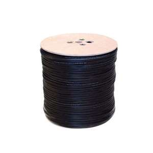 RG59 Coaxial Power Cable Black 500 metre