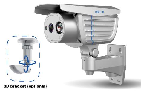 """SONY 1/3"""" 700 TVL CCD - 30m IR night vision bullet camera DC12V / AC 9-24V"""