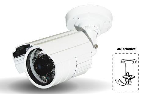 "1/3"" SONY 700TVL CCD - Weatherproof 20m IR camera with DWDR, OSD & DNR"