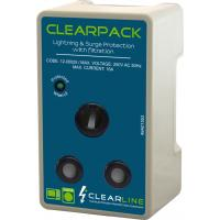 Clearline 16A Appliance Surge Protector Plug