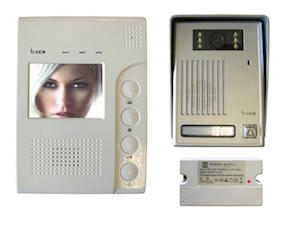 BPT b-View Colour Wired Handsfree Video Intercom Kit