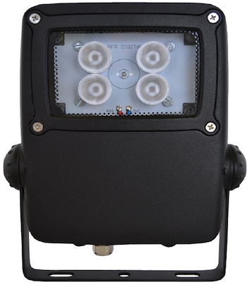 BFR 100m PoE powered IR LED flood light