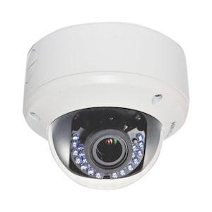 "HikVision Dome Camera 1/3"" 720p 2.8~12mm Lens HD-TVI Varifocal 40m IR"