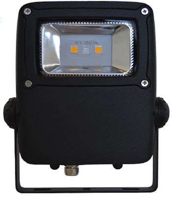 2800 Lumen PoE powered LED flood light