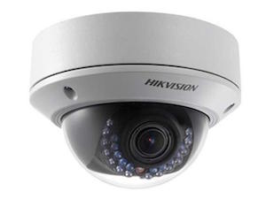 HIKVISION 2 Megapixel 2.8 - 12mm Vari focal Lens 30m IR Network Dome Camera