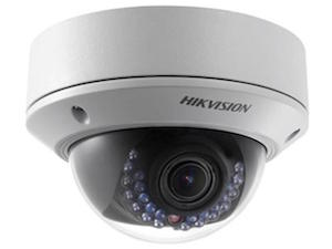 HIKVISION 4 Megapixel 2.8 - 12mm Vari focal Lens 30m IR Network Dome Camera