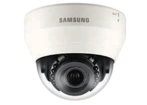 Samsung 2 Mp 2.8 ~ 12mm Varifocal lens PTR HD 15m IR LCD Network Dome Camera