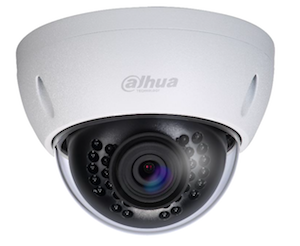 Dahua 3Mp 2.8mm fixed lens, DWDR, 30m IR, IP66, Network Dome Camera