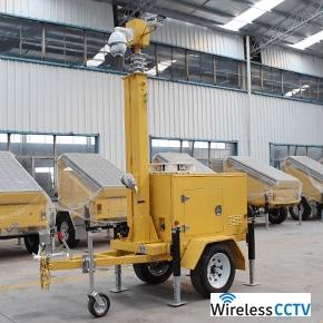 Mobile CCTV Trailer - WCCTV-VT-C