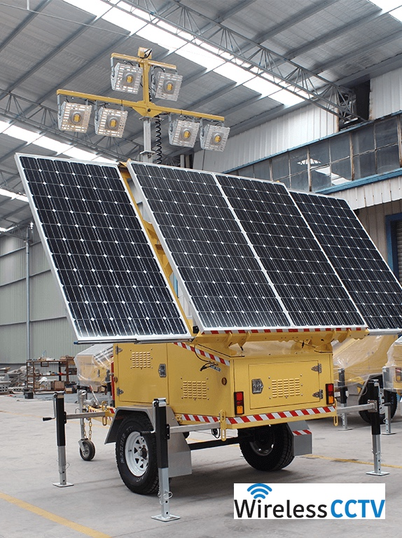 Solar Light Trailer - WCCTV-1200C-L