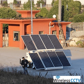 Mobile Solar Power Trailer - WCCTV-2400A