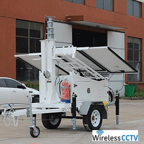 Mobile Solar Power Trailer - WCCTV-600A
