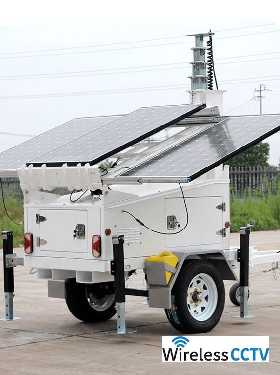 Mobile Solar Power Trailer - WCCTV-600A