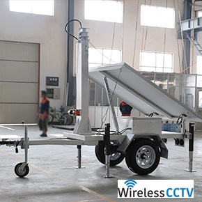 Mobile Solar Power Trailer - WCCTV-650A