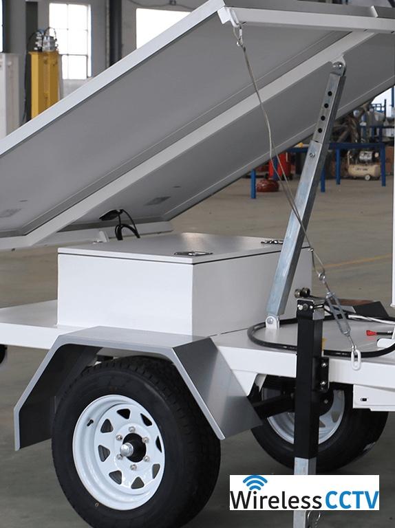 Mobile Solar Power Trailer - WCCTV-650A