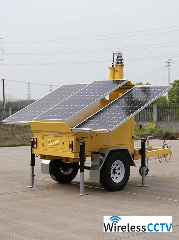 Mobile Solar Power Trailer - WCCTV-900A