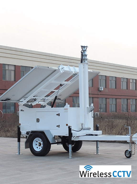 Mobile Solar Power Trailer - WCCTV-900B