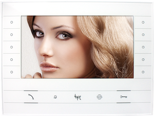 "bpt Futura 7"" TFT LED Soft Touch IP Colour Video Monitor"