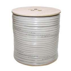 RG59 Coaxial Power Cable White 300m CB10-6